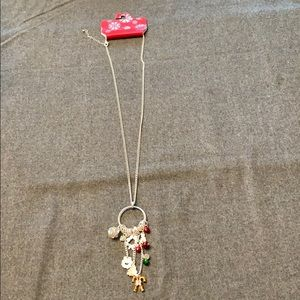 NWT Kohl's Holiday Necklace  with beautiful charms